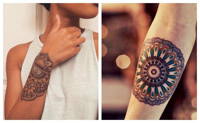 Tatuajes de mandalas celtas