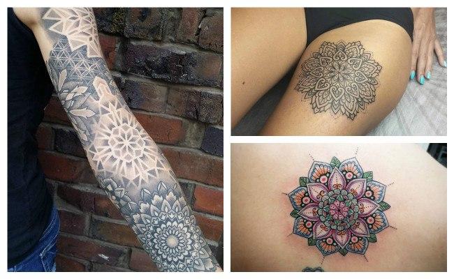 Tatuajes de mandalas con nombres