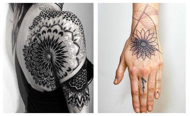 Tatuajes de mandalas fáciles
