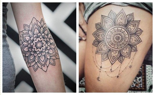 Fotos de tatuajes de mandalas