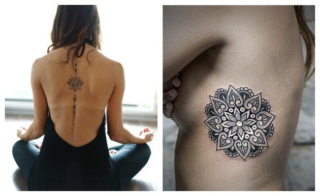 Tatuajes de mandalas para mujeres y su significado