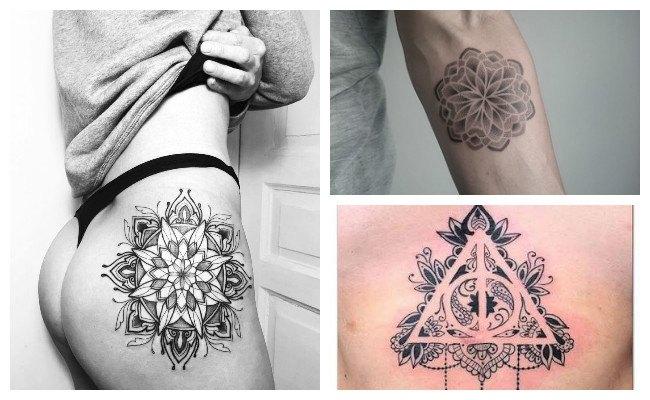 Tatuajes de mandalas originales