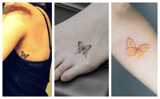 Tatuajes de mariposas originales