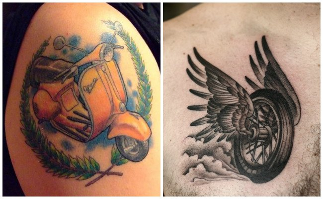 Tatuajes de motos chopper