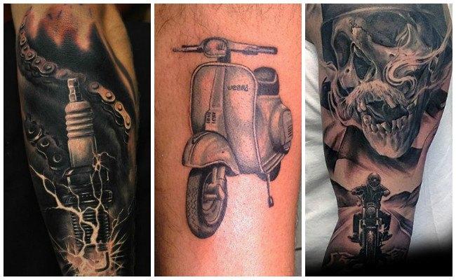 Tatuajes De Motos Que Reflejan Tu Amor Por Las Dos Ruedas