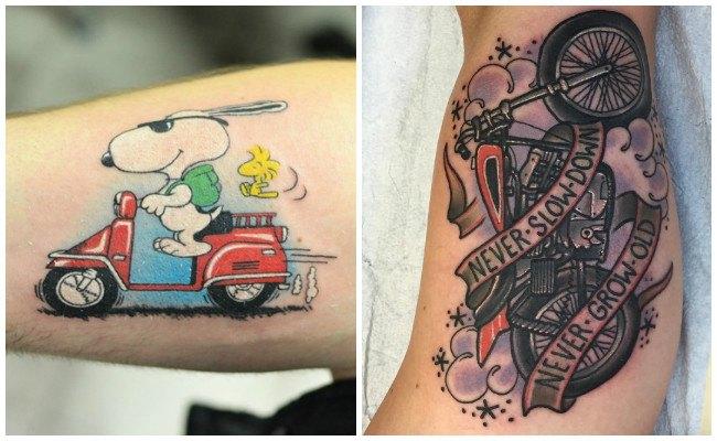 Tatuajes de motos harley davidson