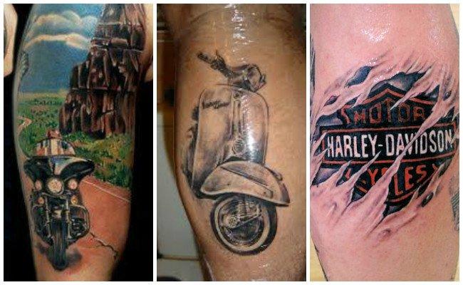 Tatuajes de motos para parejas