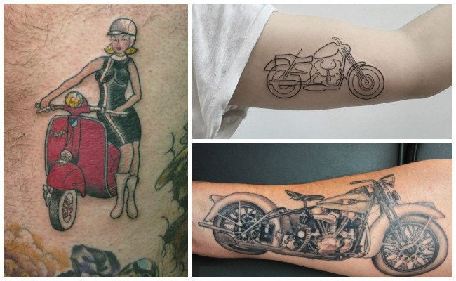 Tatuajes de motos stunt