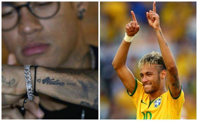 Tatuajes de neymar y sus diseños