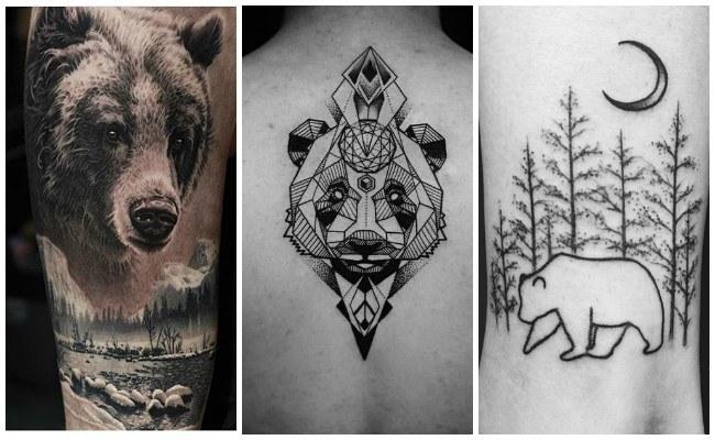 Tatuajes de oso tribal
