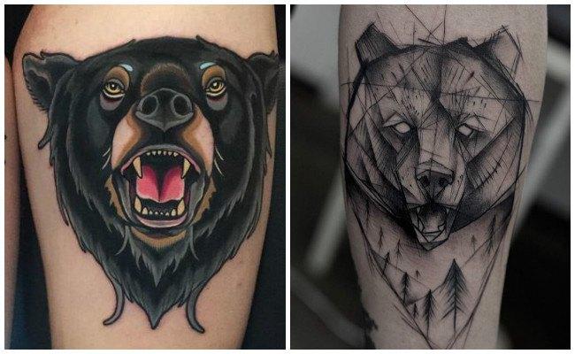 Tatuajes de oso y su significado