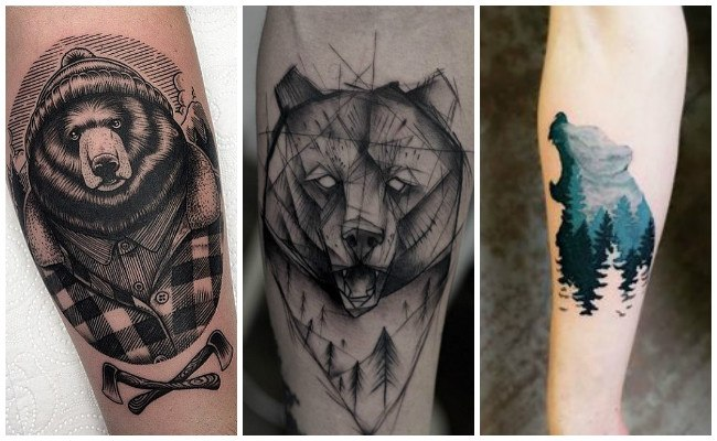 Tatuajes de osos amorosos