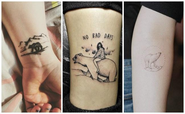 Tatuajes de osos animados