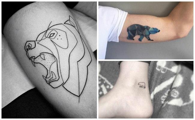 Tatuajes de osos blancos