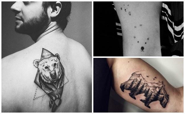 Tatuajes de osos panda