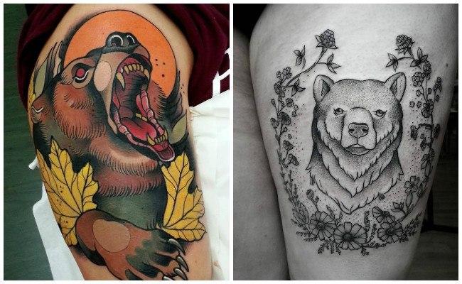Tatuajes de osos pandas tiernos