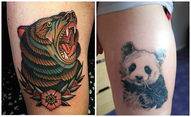 Tatuajes de osos polares