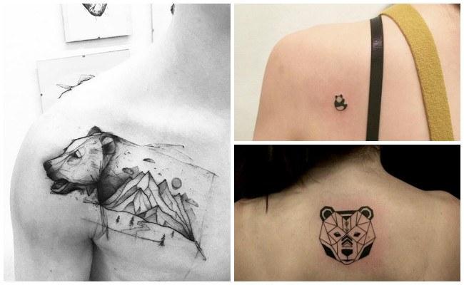 Tatuajes de osos tiernos