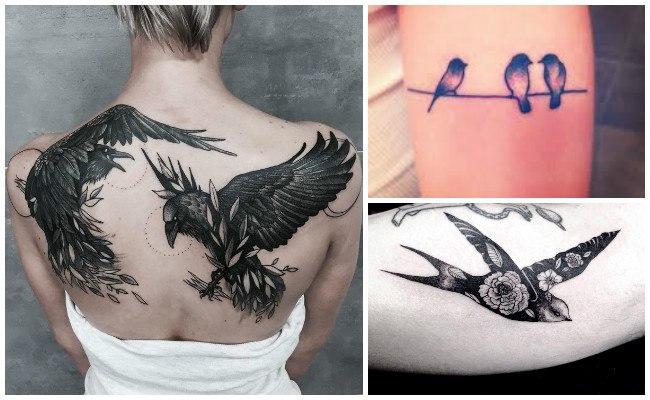 Tatuajes De Pájaros Significado Y Diseños De Todos Los Tatuajes De Aves