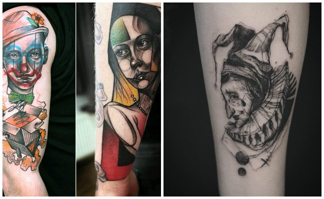 Tatuajes de payasos pachucos