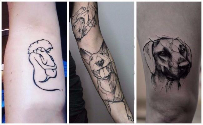 Tatuajes De Perros Para Llevar A Tu Amigo Canino Bajo La Piel
