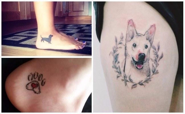 Tatuajes de perros bulldog inglés