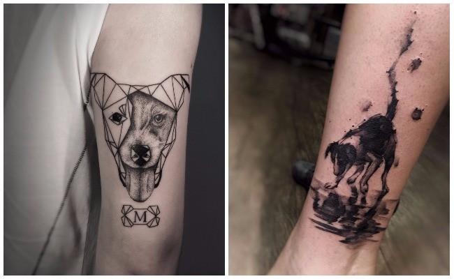 Tatuajes de perros chihuahuas