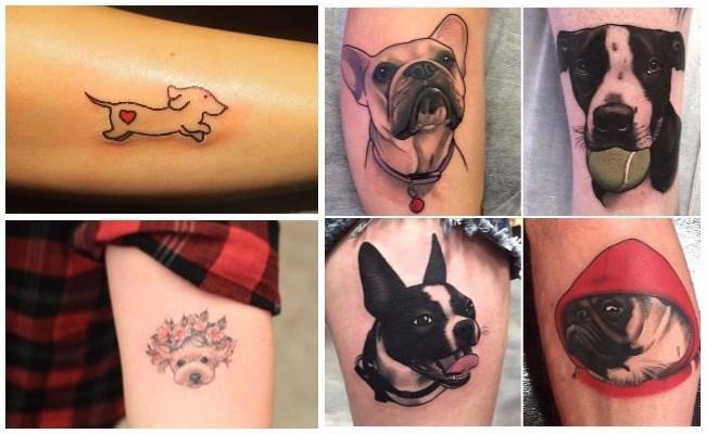Tatuajes de perros pequeños