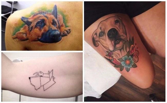Tatuajes de perros schnauzer