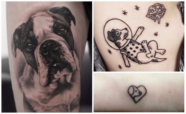 Tatuajes de perros y significado
