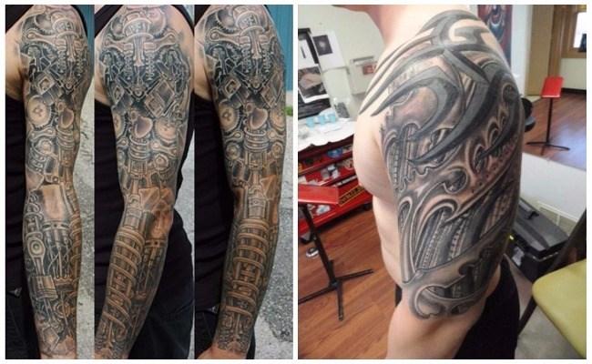 Tatuajes de pistones
