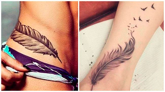 Tatuajes de plumas significado
