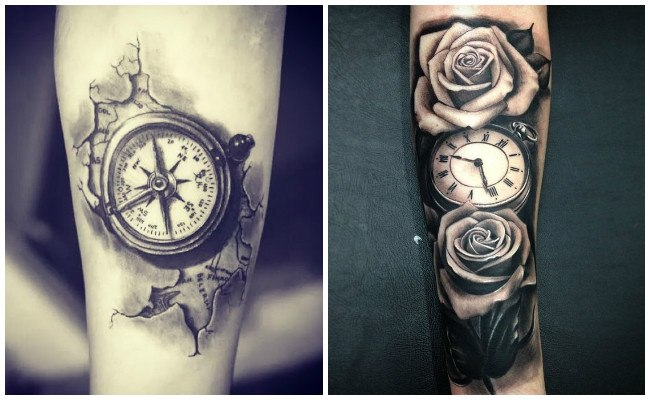 Tatuajes De Relojes Diseños Y Significados Que Paran El Tiempo