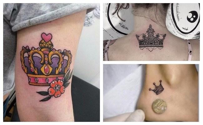 Tatuajes de coronas de reyes y diseños