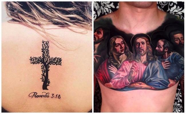 Tatuajes de rosarios con rosas