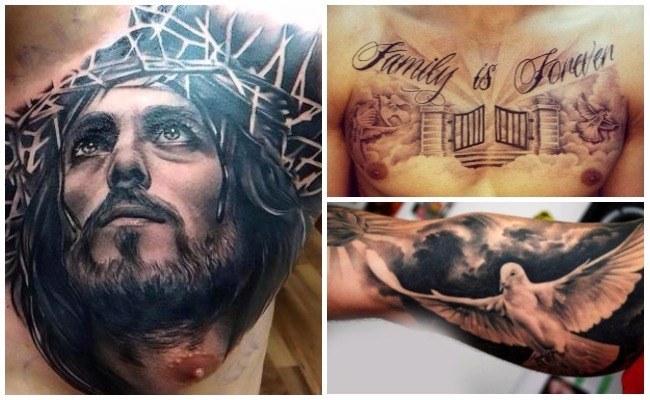 Tatuajes de rosarios en el brazo