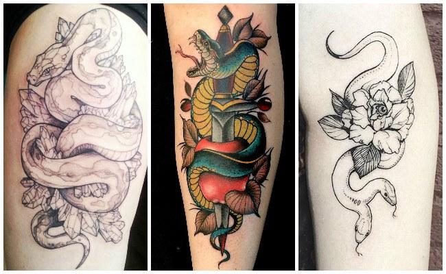 Significados de los tatuajes de serpientes