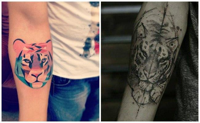 Tatuajes de tigres japoneses fotos