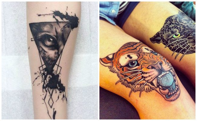 Tatuajes de tigres para hombres