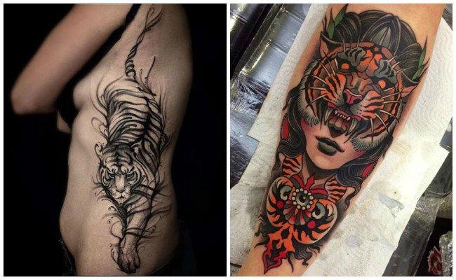 Tatuajes de tigres uanl