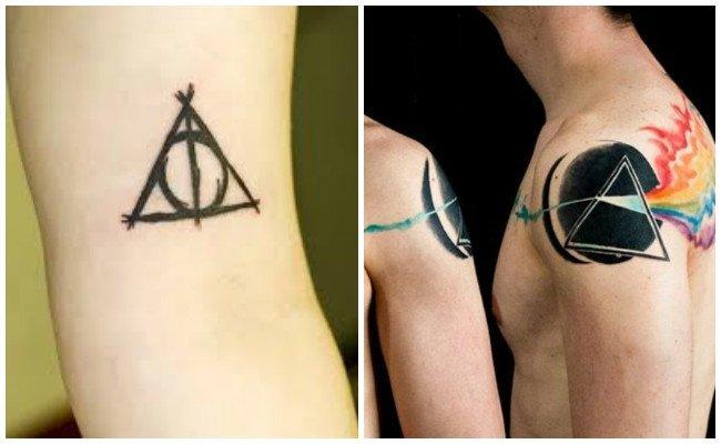 Tatuajes de triángulos 3d