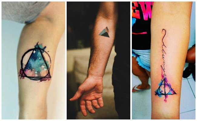Tatuajes de triángulos illuminati
