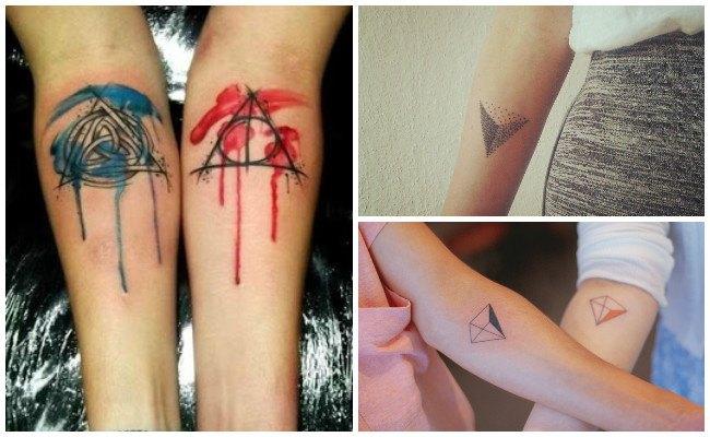 Tatuajes de triángulos imposibles