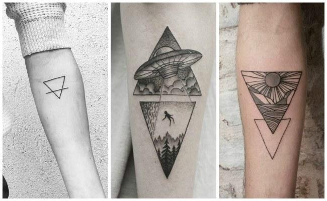 Tatuajes de triángulos y su significado