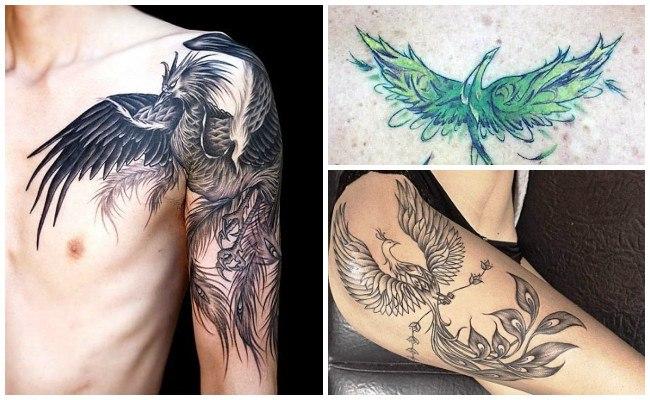 Tatuajes de un fénix