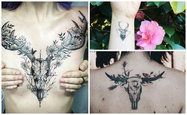 Tatuajes de un venado