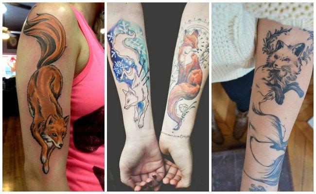 Tatuajes de un zorro
