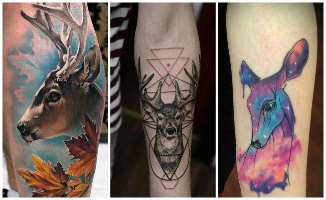 Tatuajes de venados y ciervos