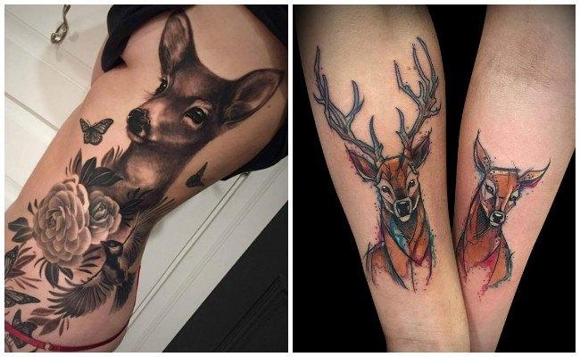 Diseños de tatuajes de venados