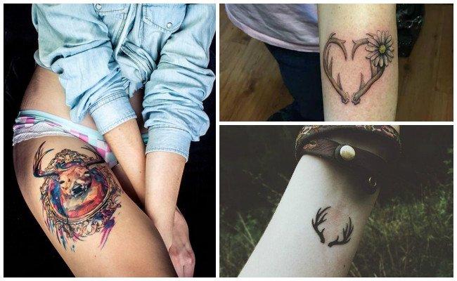 Tatuajes de venados mayas